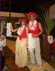 Casal Havaiano