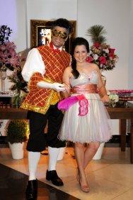 Mascarado e Debutante