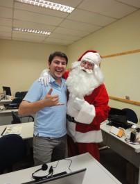 Papai Noel animado