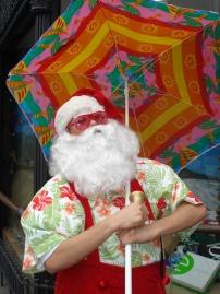 Papai Noel de Férias